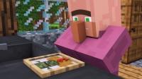 【Minecraft★我的世界★优质动画搬运】村民VS僵尸 EP.1 作者:Aline Being