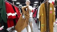 第一站女装82期杂款貂绒长款外套160元/件