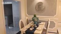 重庆乐尚装饰3室2厅98㎡简约欧式风格装修效果图样板间