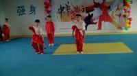 汇报演出《武林风》山东滨州惠民县强远国术馆