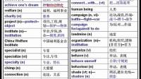 高中英语必修4unit(1)重点词上--王衡英语