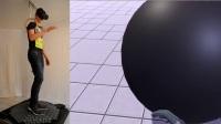 VR万向跑步机 密集恐惧症慎入