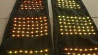 led高跷机器人表演服 带显示屏控制SD卡全彩单颗可控跑马灯效果
