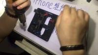 7p搬板过程 苹果7 7p Cpu维修视屏-苹果cpu修复中心