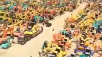 昆山掘翔二手挖掘机市场视频