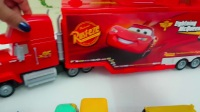 城市汽车运输队 托运大型卡车 汽车遥控玩具