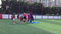 美式橄榄球体验课9