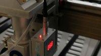 metal laser cutting head new silvery