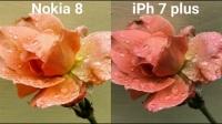 诺基亚8力压苹果7p相机