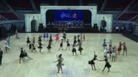 2017黑池舞蹈中国结16岁以下女子双人拉丁舞两项舞恰恰