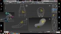 3Dmax游戏建模超清视频教程-大嘴建模教程2