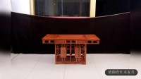 清御府红木家具:将军红木茶桌