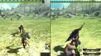 怪物猎人XX-Switch vs 3DS 画面帧数对比测试