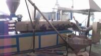 2.锥同双65-3150改性塑料造粒机生产视频