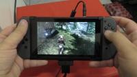 任天堂游戏机Nintendo Switch在便携模式下运行《上古卷轴5》实机视频