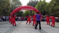 20170823_长治银行第三届广场舞文艺汇演,清华威风锣鼓秧歌队表演。
