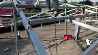 北京彩钢房制作/彩钢顶制作/钢架焊接制作