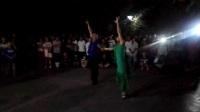 2017年8月24日沈阳创新吉特巴舞团长海、素素老师在鞍山永乐公园激情表演创新吉特巴舞