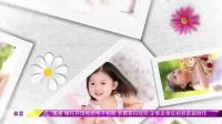ae电子相册模板儿童电子相册公主专用小花朵成长视频模板