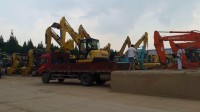 上海昆山金诚二手挖掘机市场鄂州挖友装机原版小松56-7挖掘机