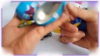 粉红猪小妹与憨豆先生一起学习拆奇趣蛋玩具,海尔兄弟 蜡笔小新