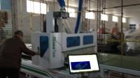 青岛速霸数控15963205067开料机加工中心 全自动木工下料机橱柜开料视频