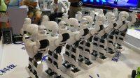 2017 北京世界机器人大会机器人集体舞