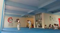 卓越跆拳道第二届暑假班晋级7