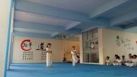 卓越跆拳道第二届暑假班晋级6