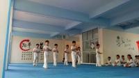 卓越跆拳道第二届暑假班晋级
