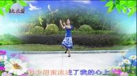 九牧林广场舞《水月亮》.(简单傣族舞)