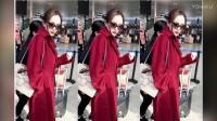 杨幂现身机场包包上的图案亮了,一个小细节暴露她有多爱小糯米!_超清