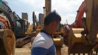 红河挖友上海昆山金诚二手挖掘机市场试机原版小松220-7挖掘机