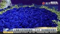 视频: 上海最大花市迎来最后一个七夕 花价销量均攀升