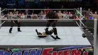 WWE2K15  极限法则   MARK  HENRY   VS   GOLDUST   下半身与上半身不成比例的强壮男人!