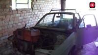 老外改装单缸柴油轿车