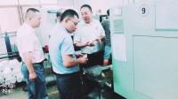 客户实地考察合发齿轮车间齿轮加工过程