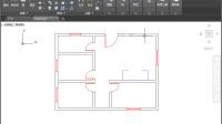 建筑设计案例——绘制住宅平面图