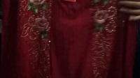 已清889期中高端品牌荣澜赵雅芝代言贵妇装秋冬款中长袖刺绣钉珠打底外穿大版衫连衣裙特价400元7件专柜一件的价格不到微信15165126829
