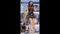【饭拍】韩国美女街头拉小提琴