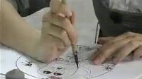 江西省陶瓷进出口公司―手指人物瓷板画王建平