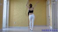 新泰金金健身舞《欢乐颂》白色紧身裤热舞_0