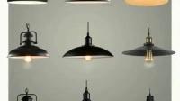 美式复古工业风单头铁艺吊灯创意餐厅酒吧台漫咖啡厅网咖锅盖吊灯-淘宝网