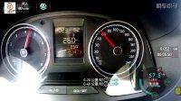 一汽-大众新款捷达 加速测试仪表盘视角