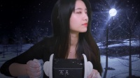 The sound of starch similar to snow[ASMR],insomnia,white noise, asmr suna,
