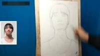 油画直接画法风景油画教程,素描教程几何体怎么画,简单油画教程图片大全怎样学素描