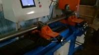 425型全自动切管机视频 数控送料高效切管机 自动夹紧无毛刺下料机