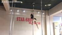 都江堰好的钢管舞培训学校星秀钢管舞教练班钢管舞包学会