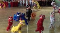 牡丹江2017第四届传统武术锦标赛开幕式狮子舞武术表演