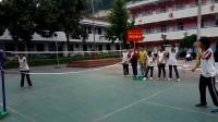 结子九年一贯制学校八月份羽毛球兴趣小组活动